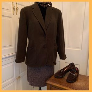 Kate Hill Chocolate Blazer